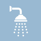 Shower vector icon Stock Photography