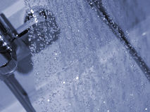 Shower water Stock Photos