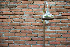 Shower water Royalty Free Stock Image