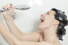 Shower Woman Stock Photos