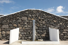 Shower zone near the beach in Terceira island. Azores. Portugal Stock Photo