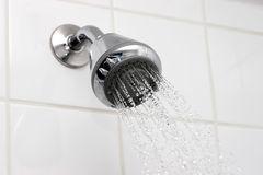 showerhead Obrazy Royalty Free