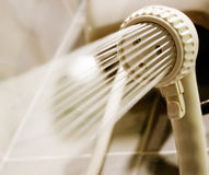 Showerhead. Bathroom Showerhead Closeup Stock Image