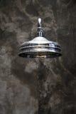 Showerhead d'argento Fotografie Stock