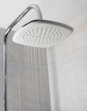 Showerhead while running water Royalty Free Stock Photography