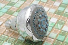 Showerhead voor douche Stock Afbeeldingen