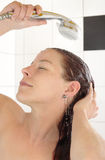 Showering Stock Photography