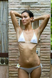 Showering Outdoors Stock Photos