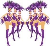 Showgirl Immagini Stock