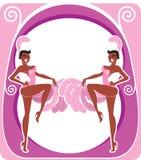 Showgirl Fotografie Stock