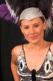 Showgirl 2 di Vegas Fotografia Stock