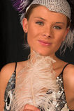 Showgirl 3 di Vegas fotografie stock