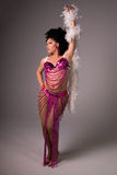 Showgirl. Stock Images