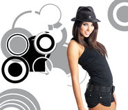 Showgirl Stock Image