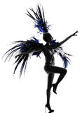Showgirl woman revue dancer dancing Royalty Free Stock Image