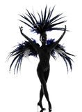 Showgirl woman revue dancer dancing Stock Image