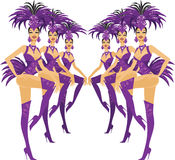Showgirls Stock Images
