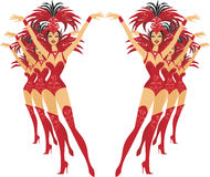 Showgirls Stock Photography