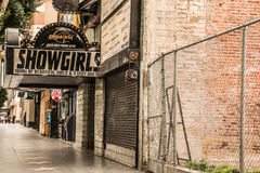 Showgirls Hollywood Strip Club Stock Image