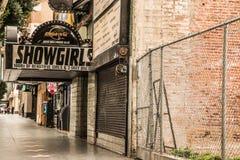 Showgirls Hollywood Strip Club Stock Image