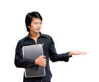 Showing businessman Stock Images