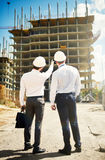 Showing construction Royalty Free Stock Photo