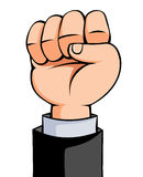 Showing fist Vector Illustration Royalty Free Stock Photos