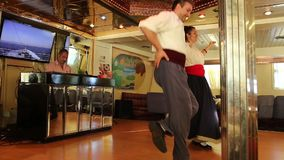 Showing Greek dance - Greece stock video footage