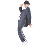 Showing MJ dance moves Royalty Free Stock Photography