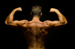 Showing muscles Stock Photos