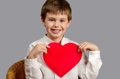 Showing my love to everybody Royalty Free Stock Image