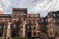 Windows of Boston royalty free stock image