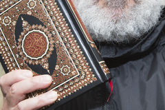 Showing the quran Royalty Free Stock Images