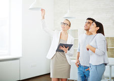 Showing room royalty free stock image