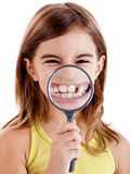 Showing teethes Stock Image