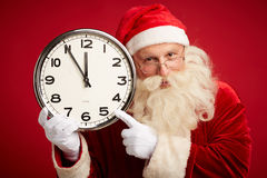 Showing time Stock Photography
