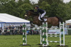 Showjumping at the Edenbridge and Oxted Agricultural show 2015 Stock Image
