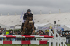 Showjumping at the Edenbridge and Oxted Agricultural show 2015 Stock Photography