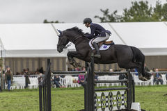 Showjumping at the Edenbridge and Oxted Agricultural show 2015 Stock Photos