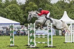 Showjumping at the Edenbridge and Oxted Agricultural show 2015 Royalty Free Stock Photo