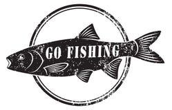 Shown icon fishing Stock Photo