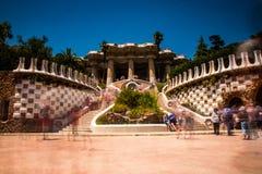 Showplace com muitos turistas foto de stock royalty free