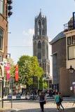 Showplace de Utrecht - Domtoren fotografia de stock