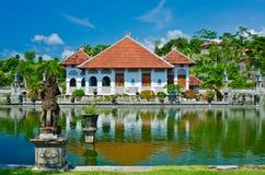 Showplace do palácio da água de Ujung na regência de Karangasem Bali, Indone fotos de stock royalty free