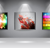 ShowRoom Art Gallery exposition Royalty Free Stock Images
