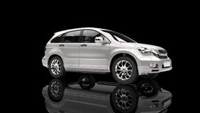 Showroom SUV Royalty Free Stock Image