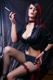 Showtime! Cabaret Artist Royalty Free Stock Photos