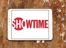 Showtime nadawczej firmy logo Zdjęcia Royalty Free
