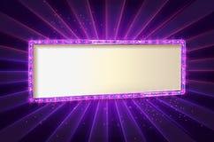 Showtime Retro teckenuppsättning Royaltyfri Fotografi