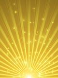 Showtime tło wakacje i światło reflektorów - świętowanie w złocie i purpurach - ilustracja wektor